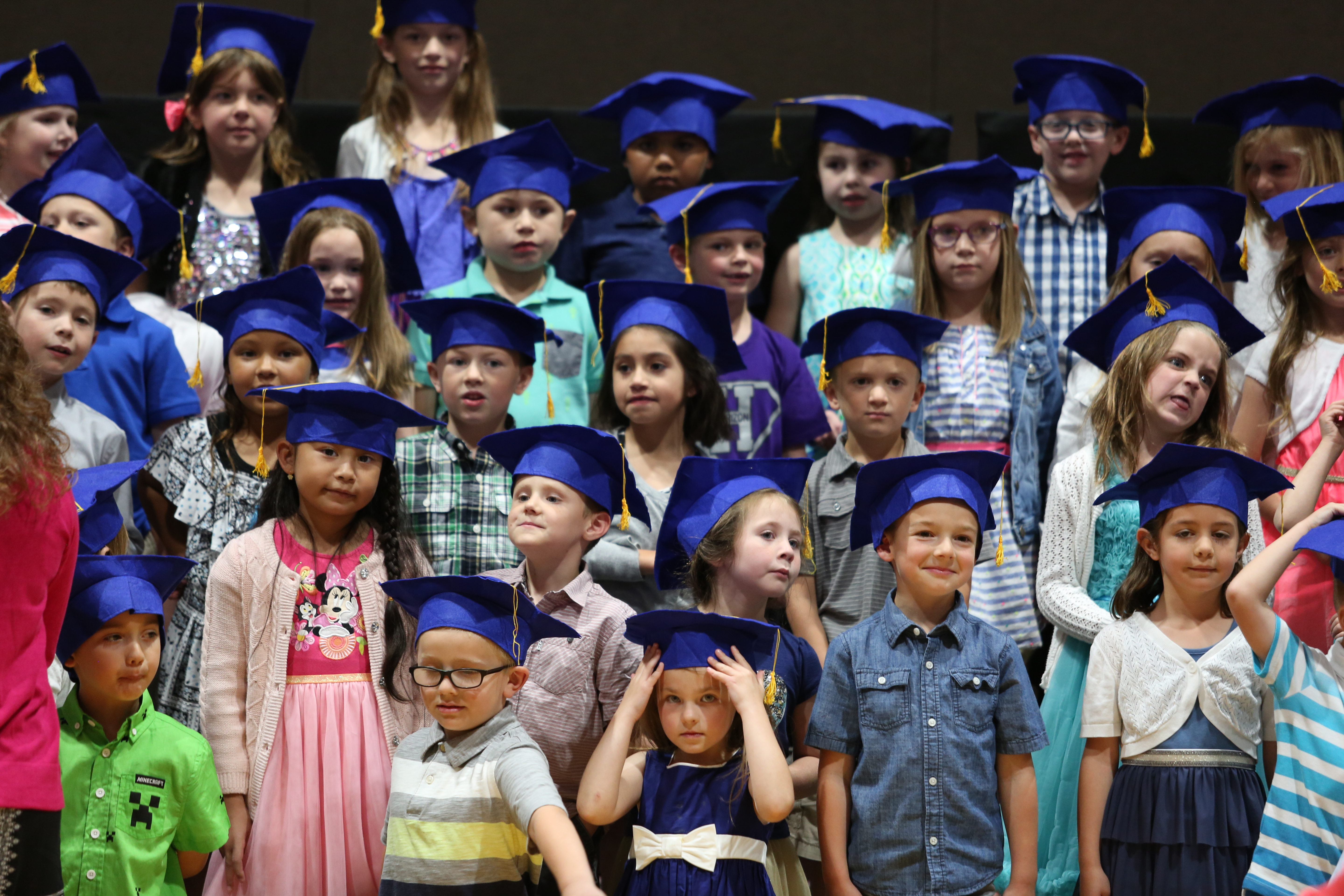 Kinder Garden: Kindergarten Graduation A Success!