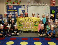 Horizon students celebrate 100th Day