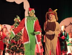 "Students perform in ""Horizon Elementary Stole Christmas"""