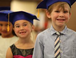 2017 Horizon kindergarten graduation