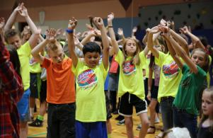 ACES (All Children Exercising Simultaneously) on May 11