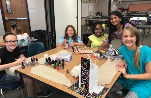 5th grade Salon Day