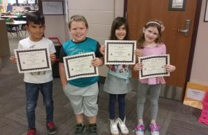 Student of the Month--August/September 2018