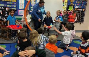 Shepard Swim School Visit